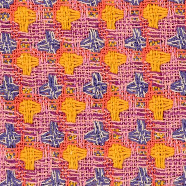 multicoloured check fabric