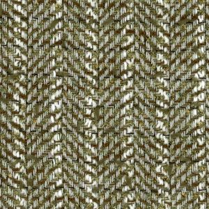 green herringbone fabric