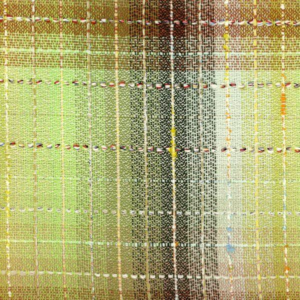 green check fabric
