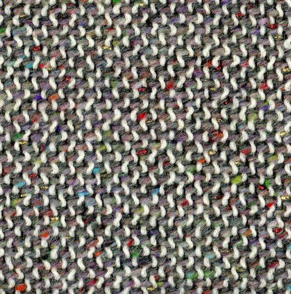 grey couture fabric