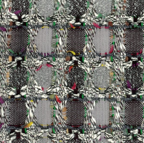 grey tweed fabric