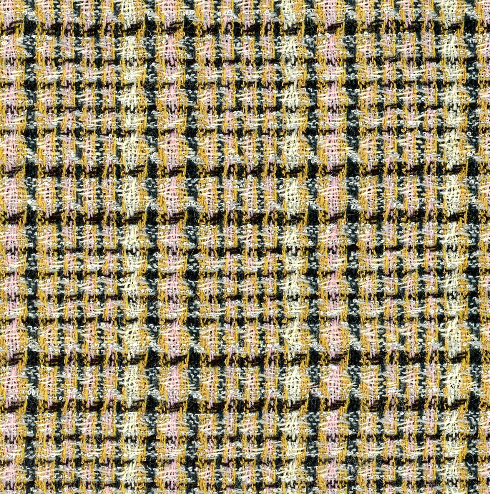 multicoloured check fabric