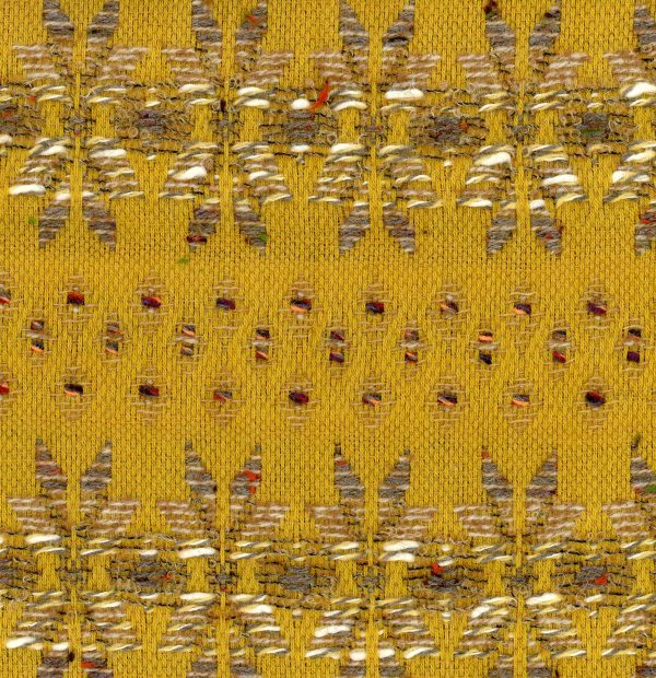 yellow couture tweed