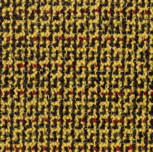 mustard boucle fabric