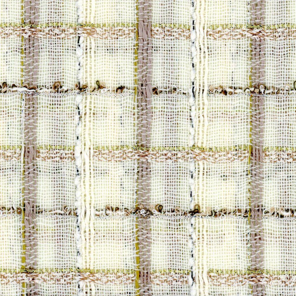 cream couture tweed