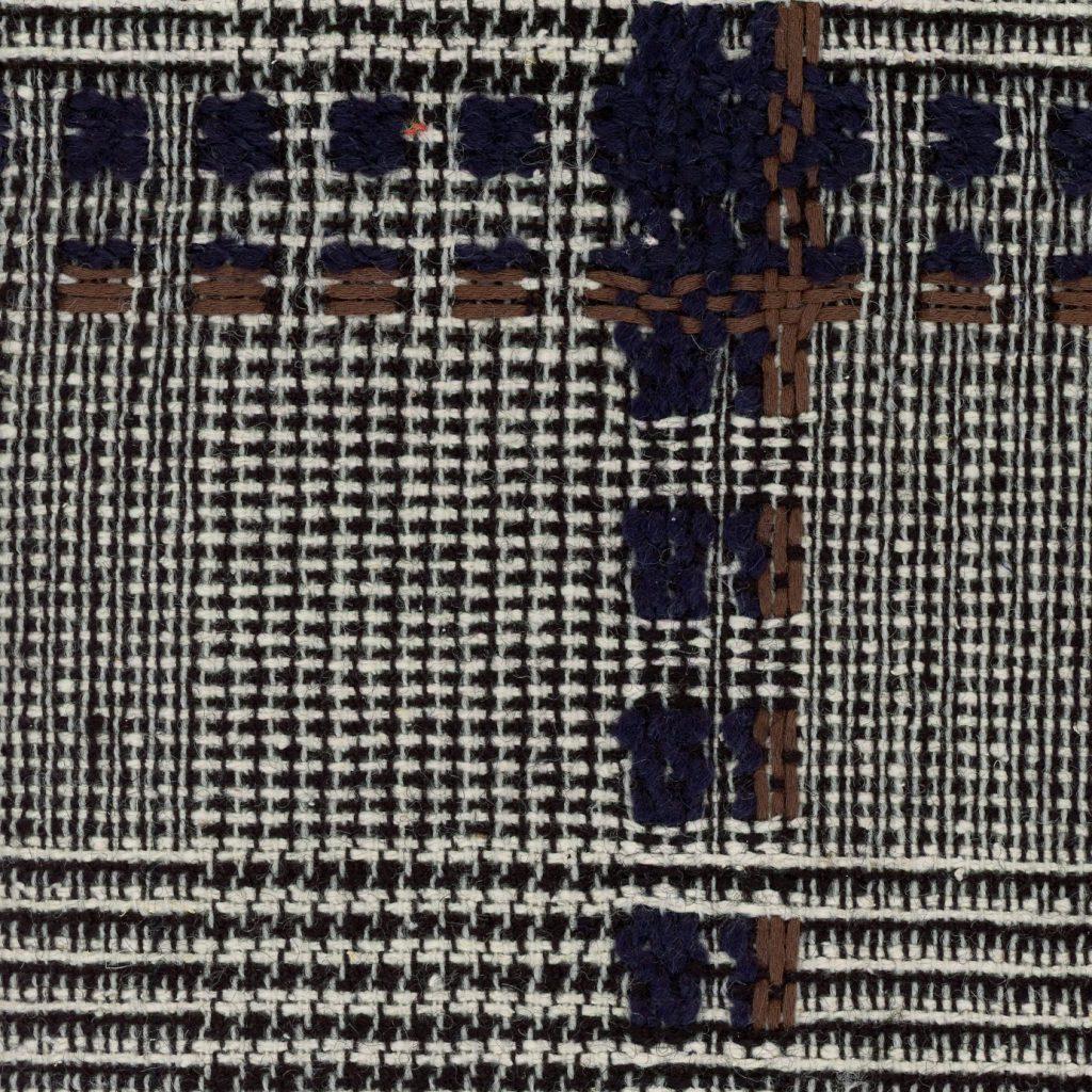 check tweed fabric