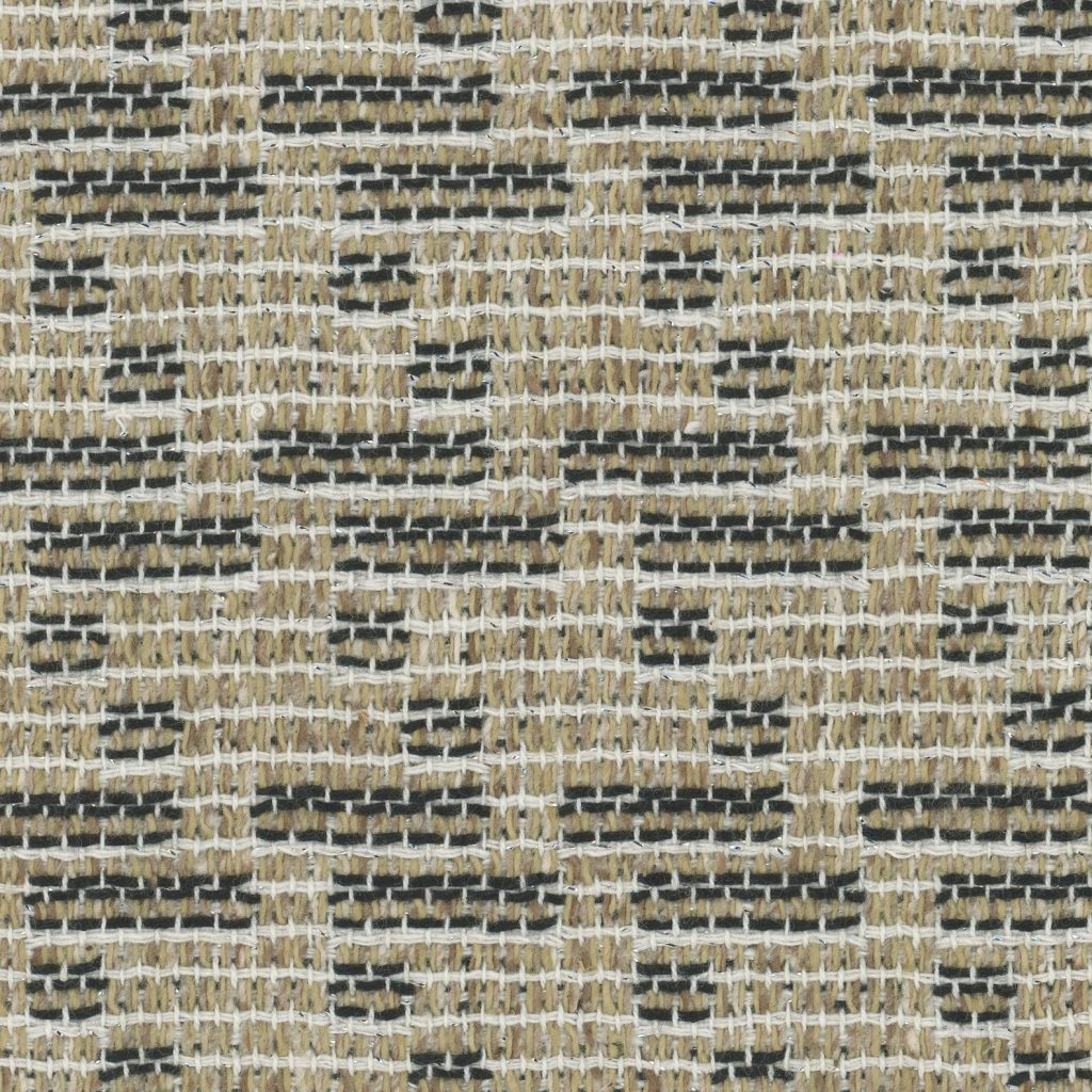 brown and white fabric