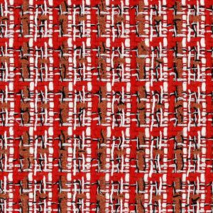 red couture fabric