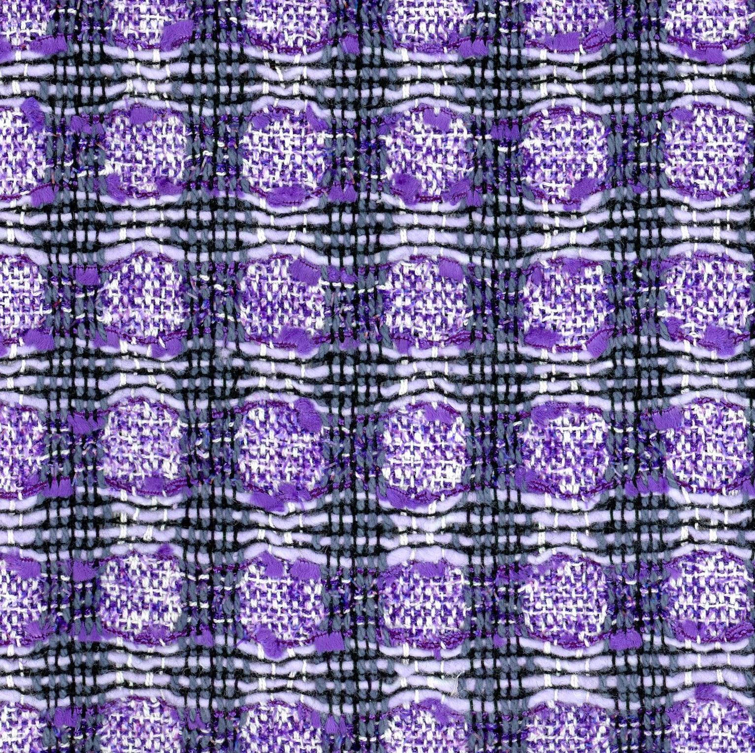 purple tweed