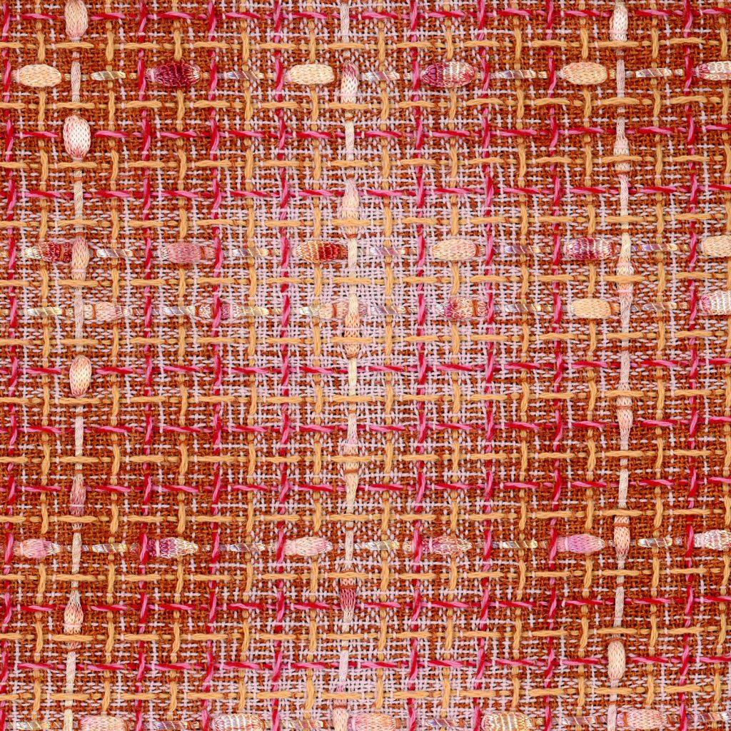 Orange and Pink Fabric