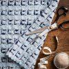 pale blue tweed