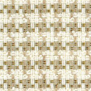 cream and gold tweed fabric