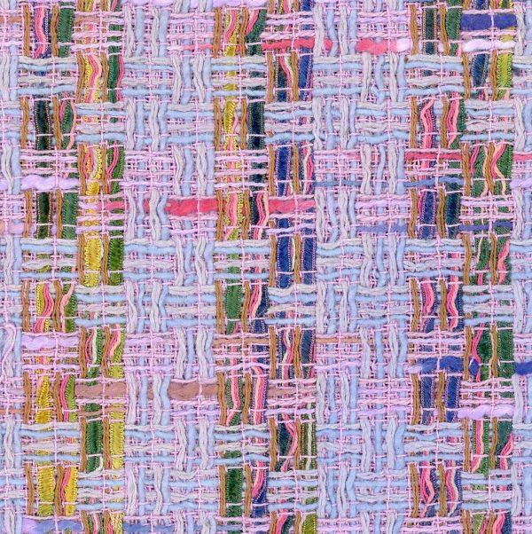 purple tweed fabric