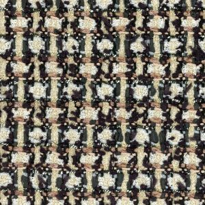beige and black fabric