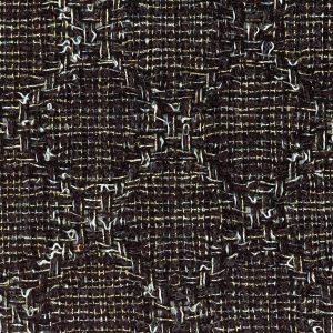 black and gold tweed