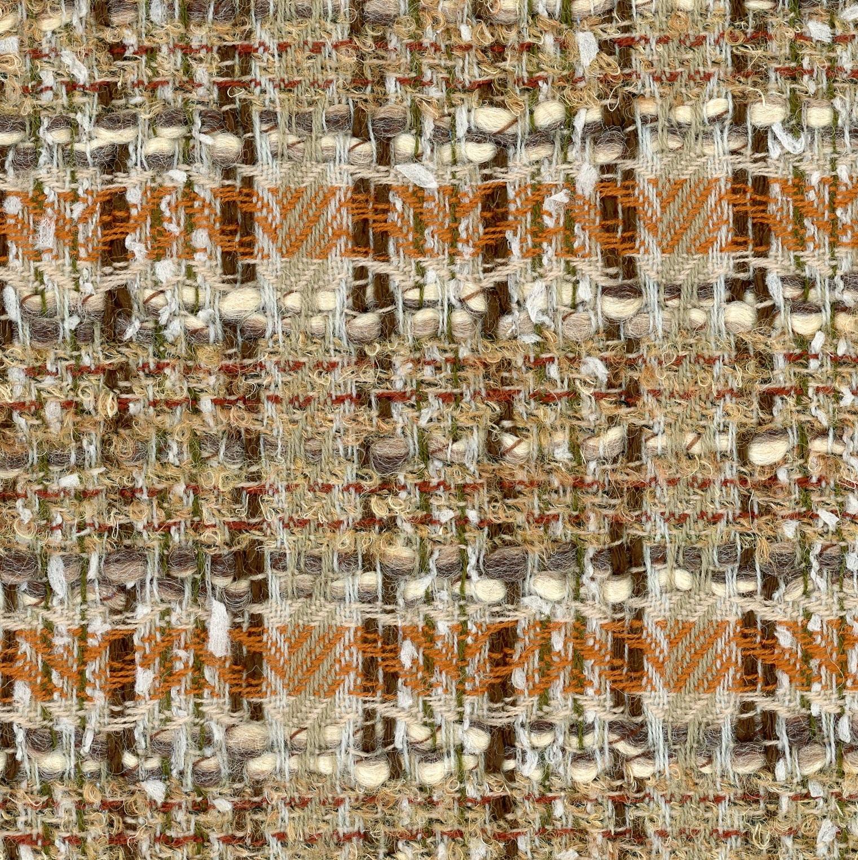 natural and brown tweed