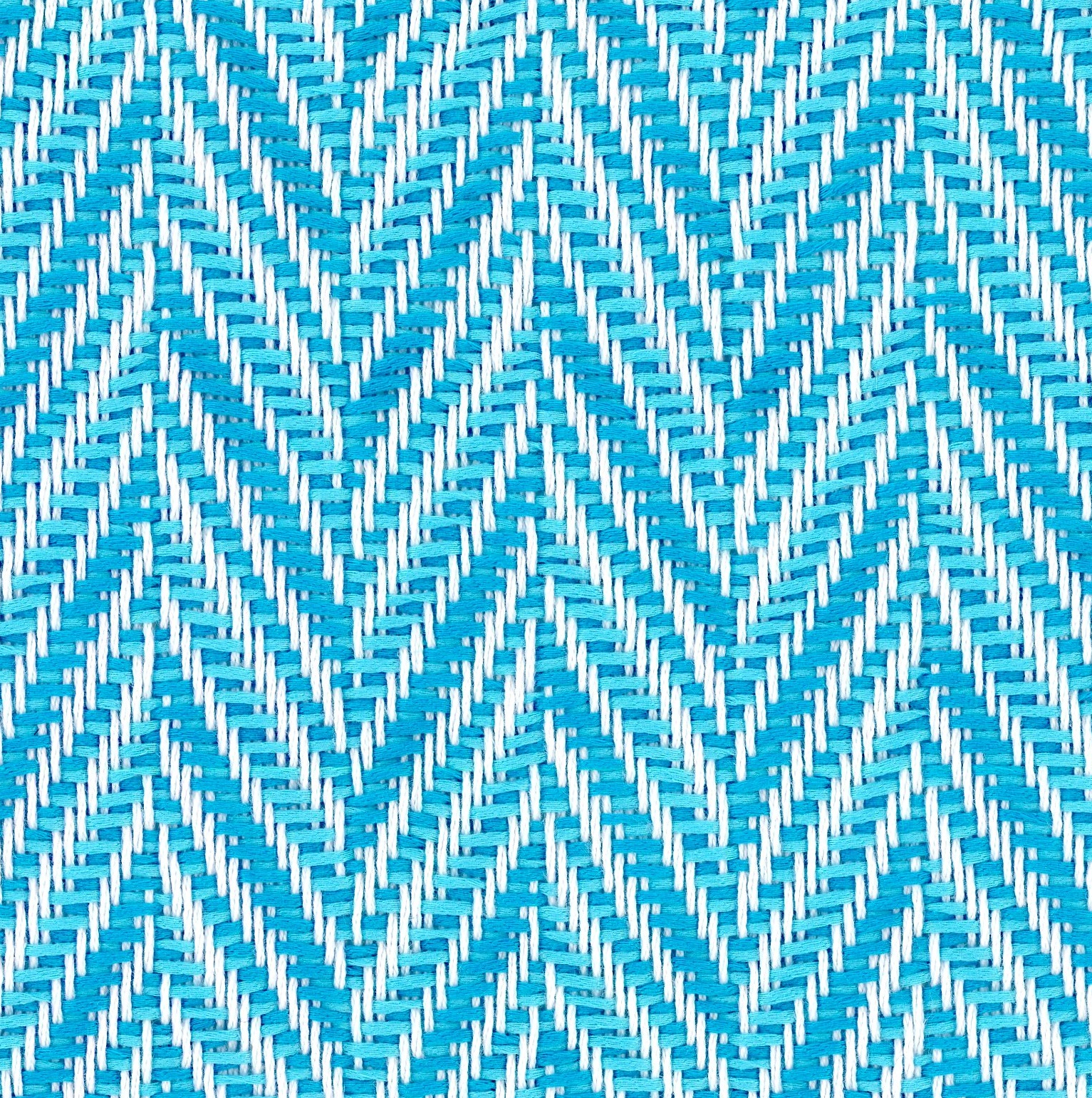 blue herringbone fabric