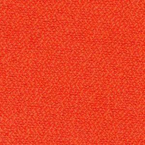 Orange wool fabric